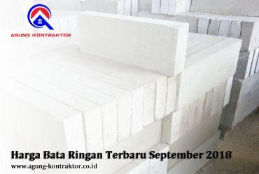 Harga Hebel Bata Ringan Terbaru September 2018