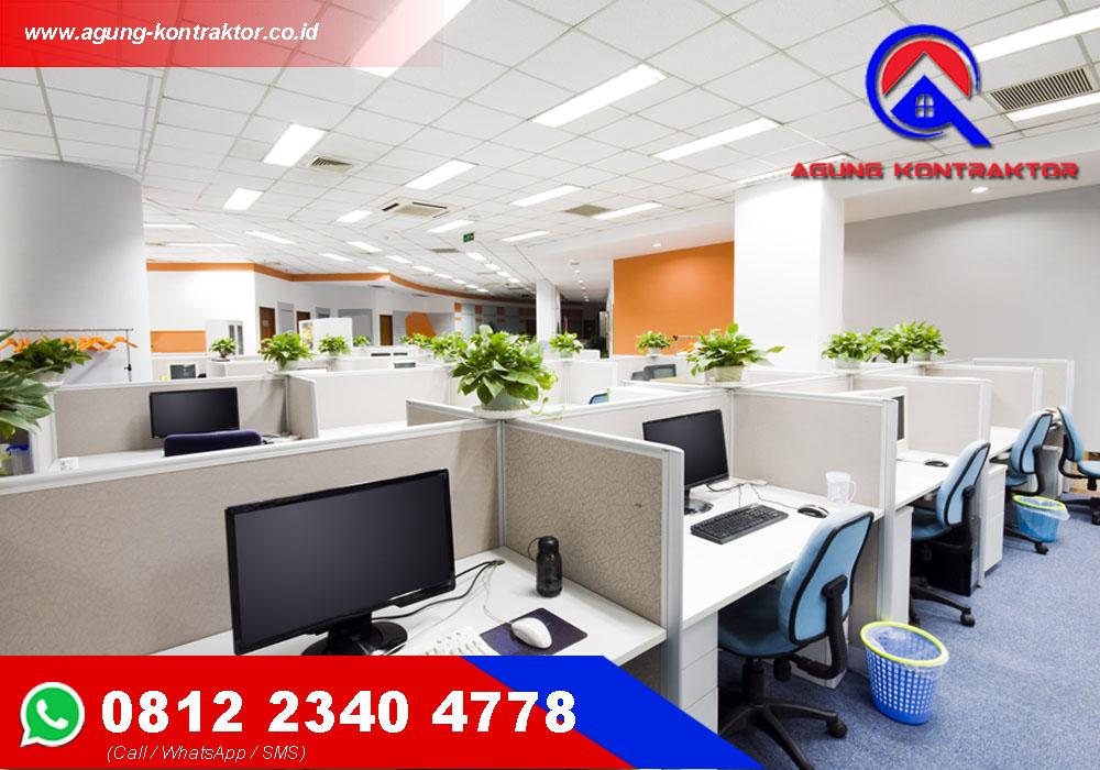 Kontraktor Jasa Renovasi Kantor Profesional dan Bergaransi